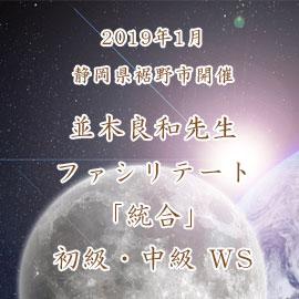 【2019年1月静岡県裾野市開催】並木良和先生ファシリテート「統合」初級・中級 WS