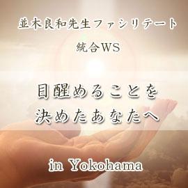 並木良和先生による統合WS「目醒めることを決めたあなたへ 」 in Yokohama